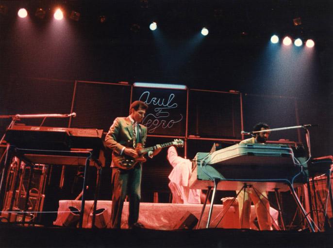 Presentación en Madrid, Sala Morasol - 1983
